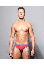 ANDREW CHRISTIAN ANDREW CHRISTIAN SHOW IT RETRO BRIEF RED
