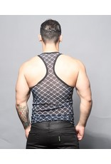 ANDREW CHRISTIAN ANDREW CHRISTIAN BARBED WIRE SHEER TANK