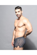 ANDREW CHRISTIAN ANDREW CHRISTIAN BARBED WIRE SHEER JOGGER SHORT