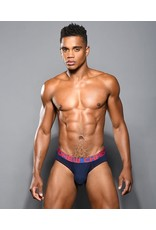 ANDREW CHRISTIAN ANDREW CHRISTIAN ALMOST NAKED BAMBOO BRIEF NAVY