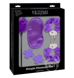 PIPEDREAM PRODUCTS FETISH FANTASY PURPLE PASSION KIT