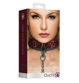 Shots OUCH! LUXURY COLLAR WITH LEASH