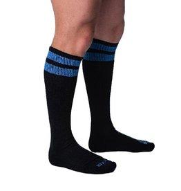 DJX DJX FOOTBALL SOCKS BLACK/BLUE