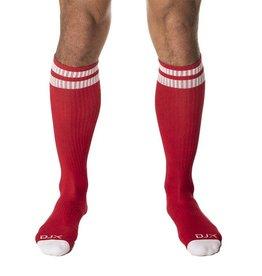 DJX DJX FOOTBALL SOCKS RED