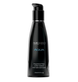 WICKED WICKED AQUA UNSCENTED LUBE 4 OZ
