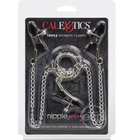 CalExotics Nipple Play Triple Intimate Clamps 26.5 Inch
