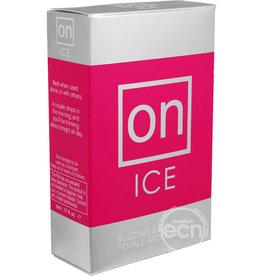 SENSUVA ORGANICS SENSUA ON ICE BUZZING & COOLING FEMALE AROUSAL OIL