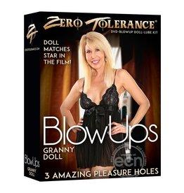 ZERO TOLERANCE BLOW UPS GRANNY DOLL