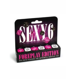Creative Conceptions SEXY 6 FOREPLAY EDITION DICE GAME