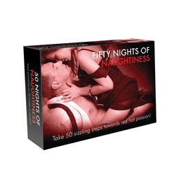 Creative Conceptions FIFTY NIGHTS OF NAUGHTINESS COUPLES CARD GAME