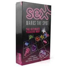 Creative Conceptions SEX MARKS THE SPOT BOARD GAMES