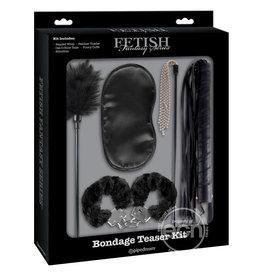 Pipedream Products, Inc. FETISH FANTASY BONDAGE TEAZER KIT BLACK