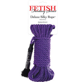 Pipedream Products, Inc. FETISH FANTASY DELUXE SILK ROPE 32' PURPLE