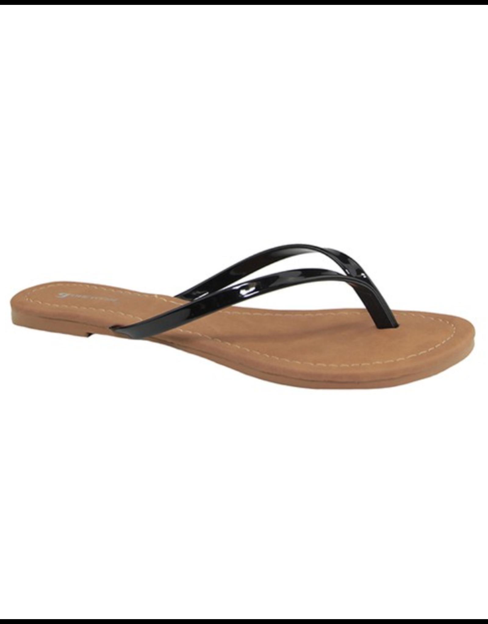 Print Thong Sandals