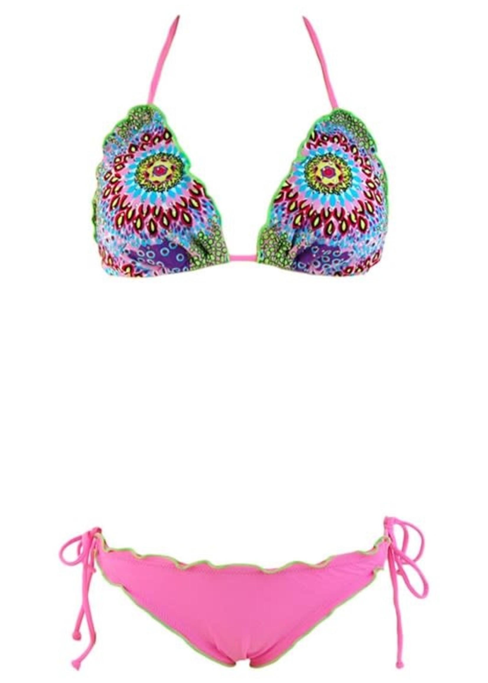Exotic Print Bikini