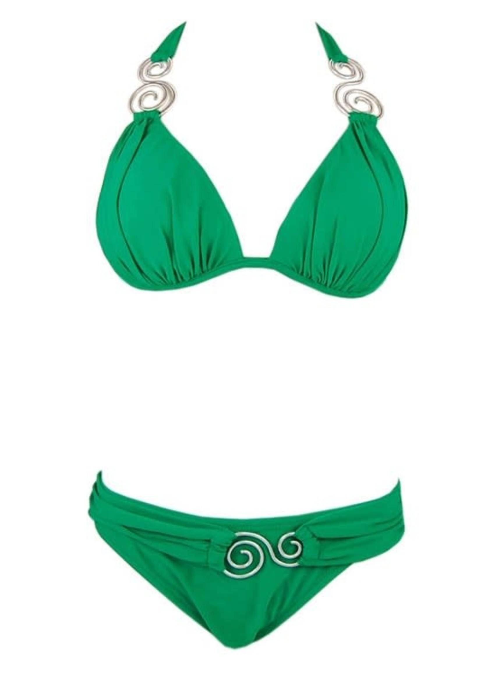 Classy Green Bikini