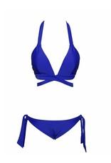 All American Blue Wrap Bikini