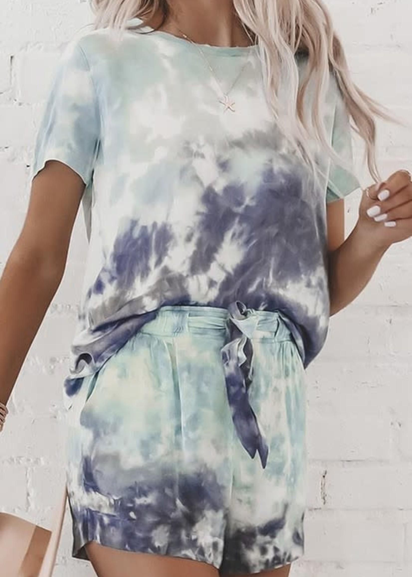 Tie-Dye Two Piece Set