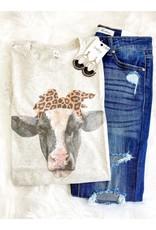 Cow Leopard Sublimation Tee