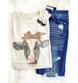 Cow Leopard Sublimation Tee