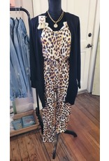 L&B Basic Cheetah Everyday Jumpsuit