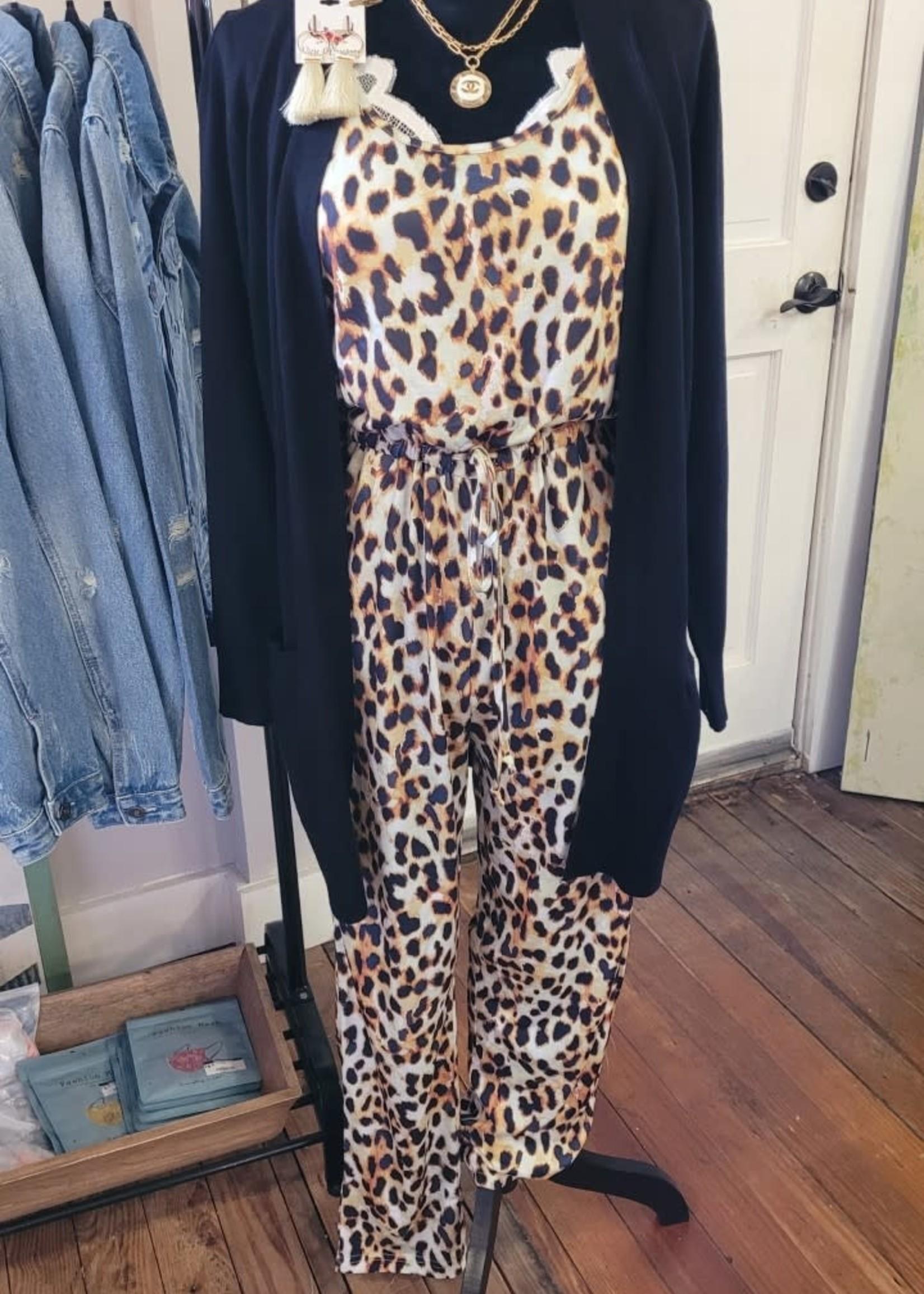 Basic Cheetah Everyday Jumpsuit