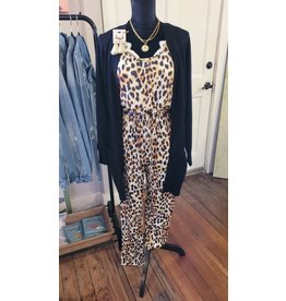 L&B Basic Cheetah Everyday Jumpsuit