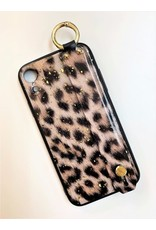 L&B Leopard With Handle Iphone Case