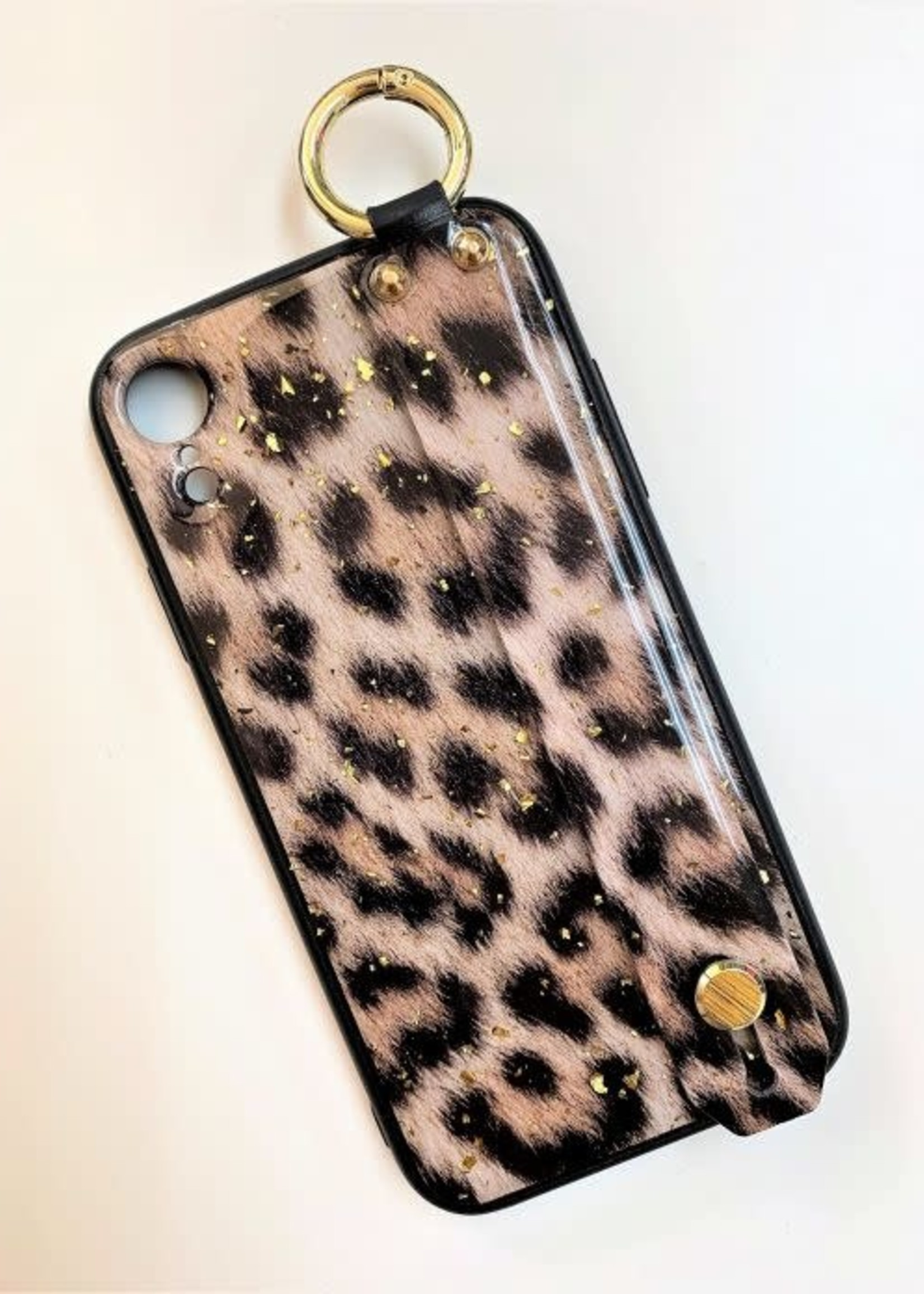 Leopard With Handle Iphone Case
