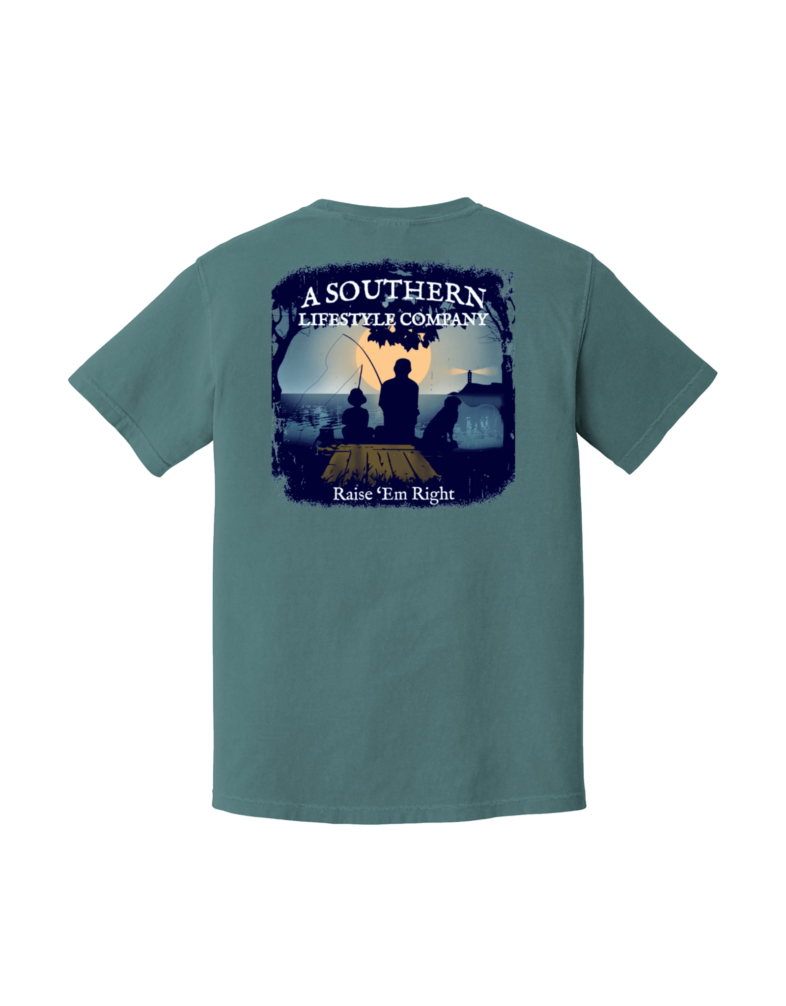 A Southern Lifestyle Co Dock Sitting Tee
