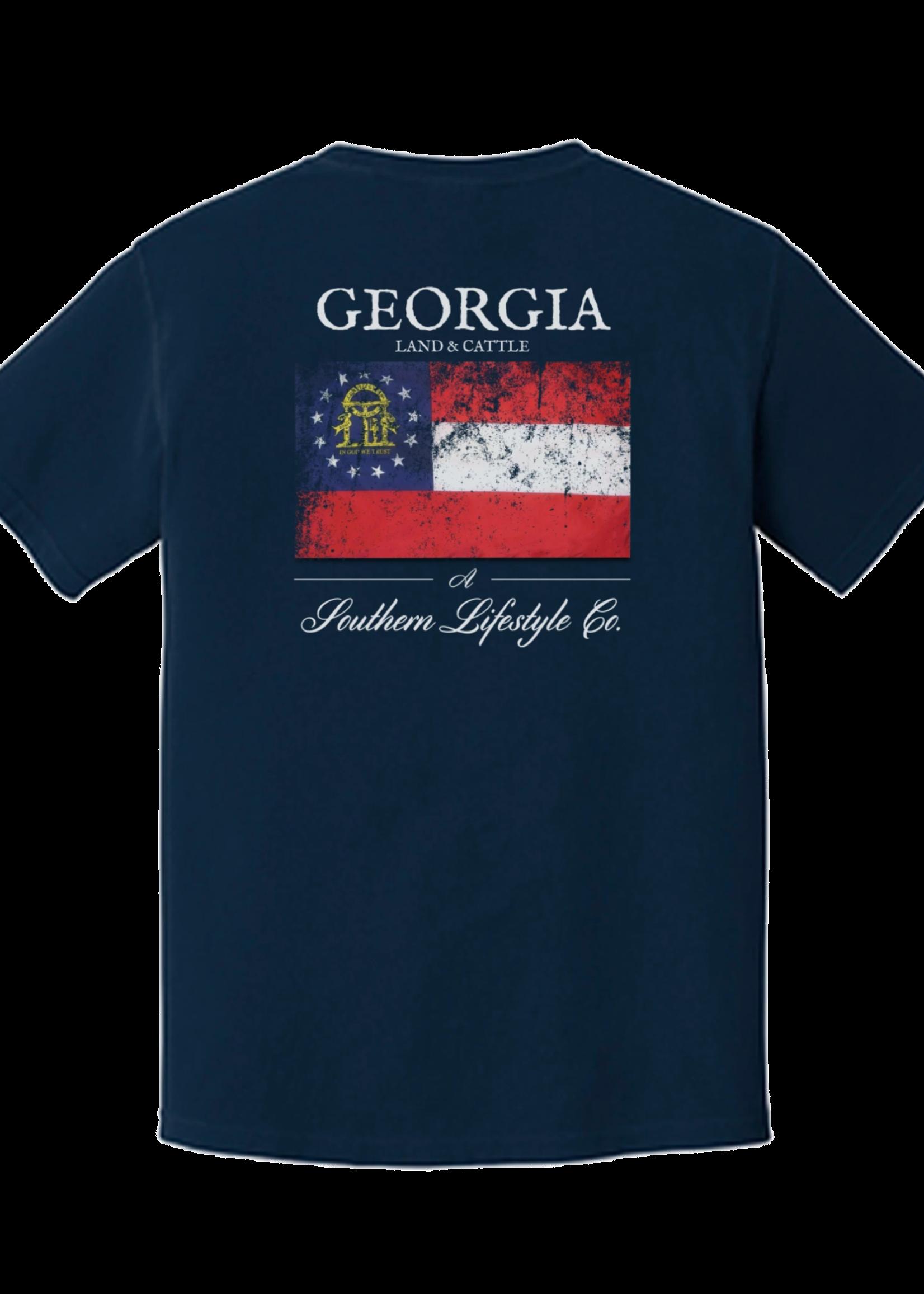 A Southern Lifestyle Co Georgia Proud Tee
