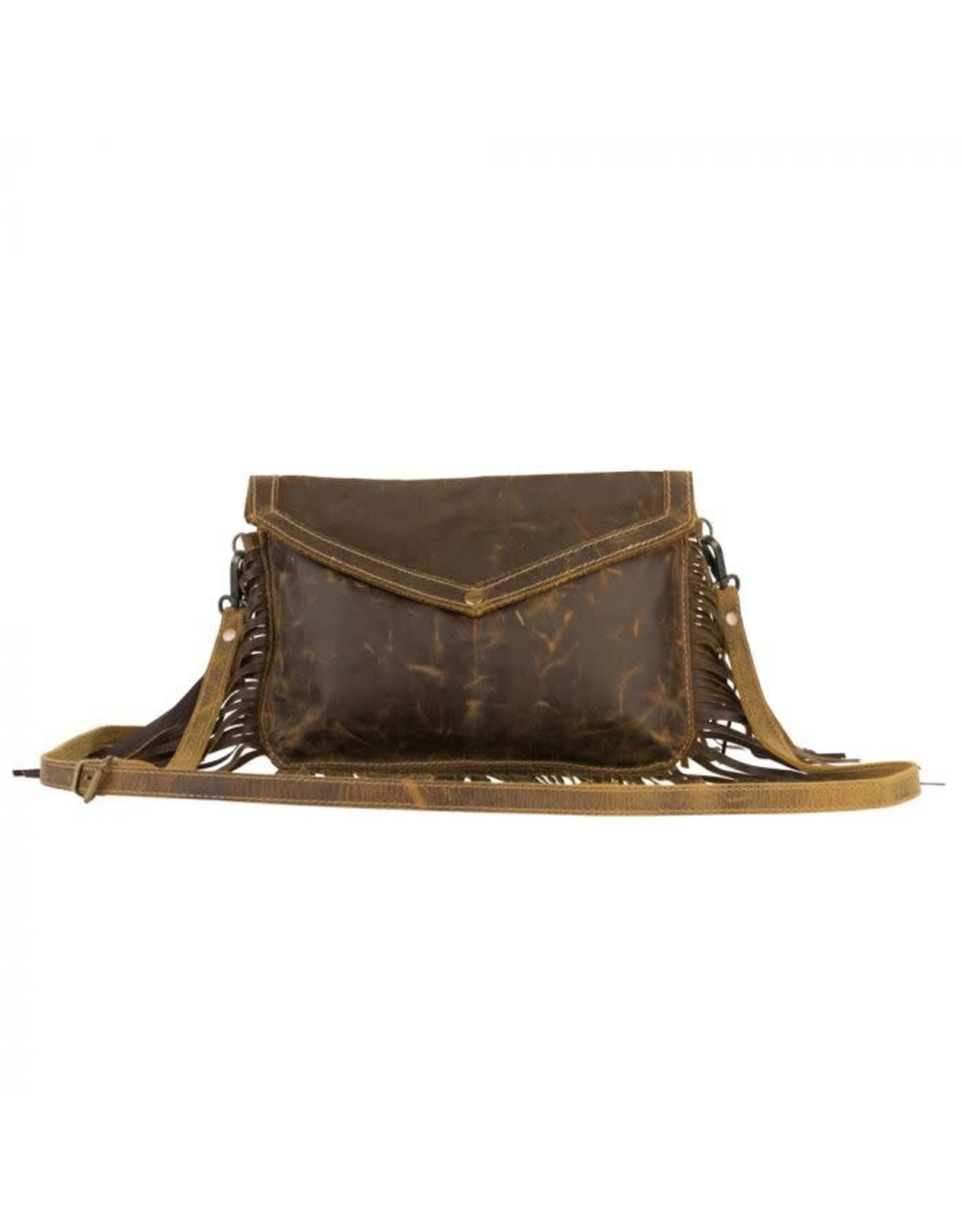 Cowgirl Love Leather Tassel Bag