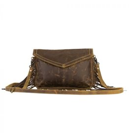 Cowgirl Love Leather Tassel Bag