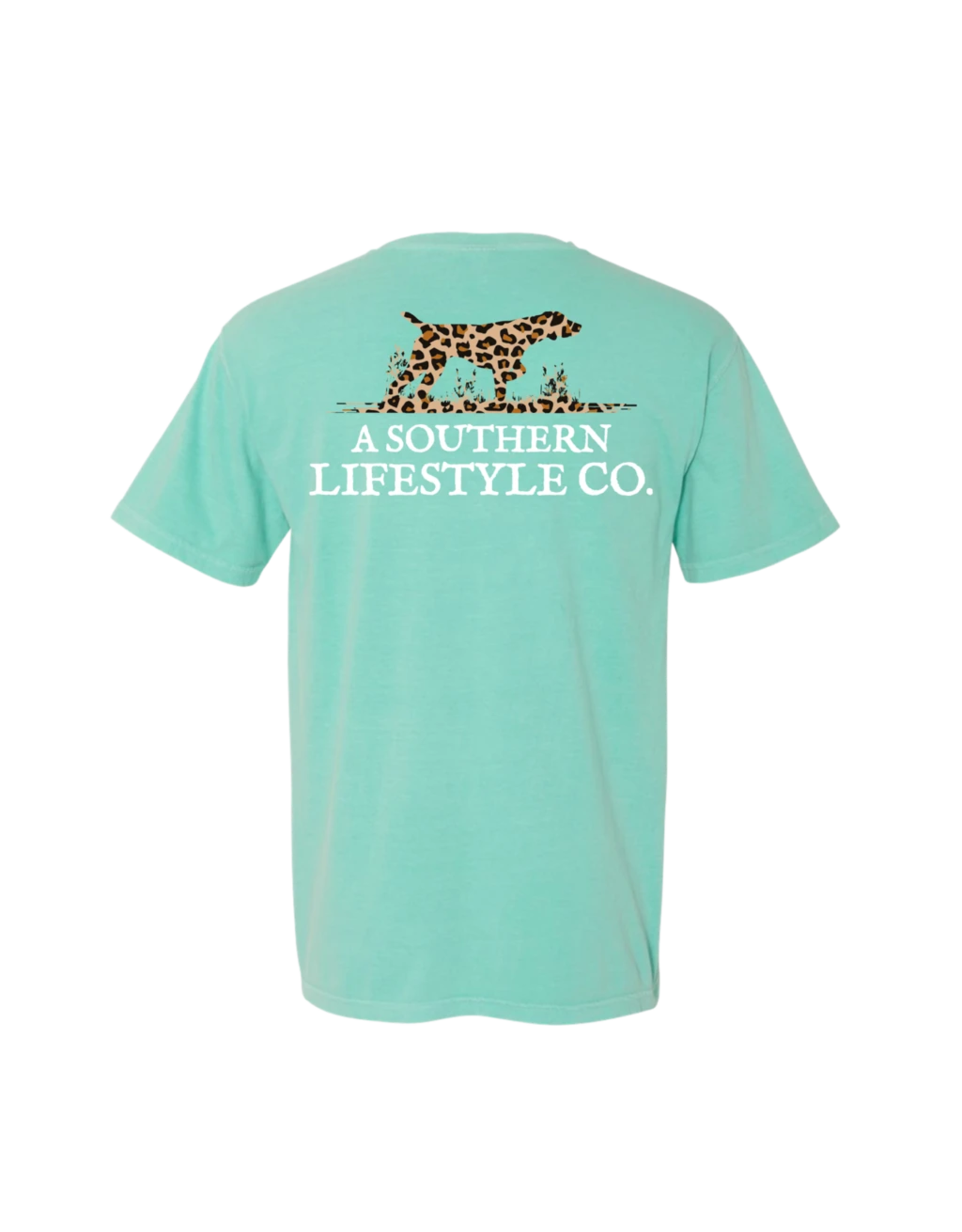 A Southern Lifestyle Co The Leopard Logo Tee