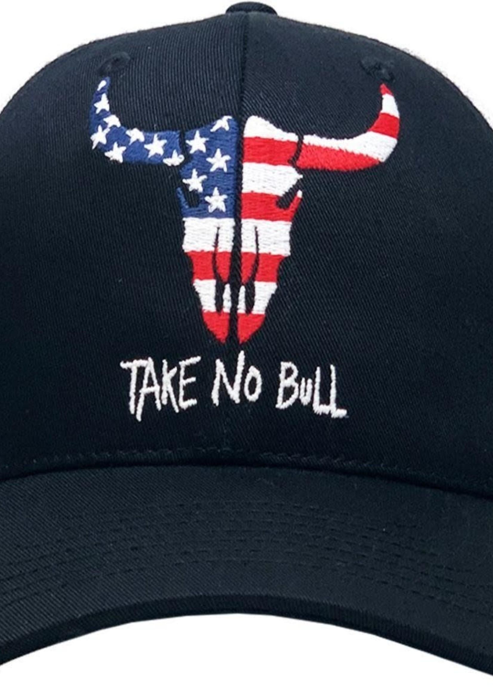 USA Take No Bull Vintage Mesh Baseball Cap