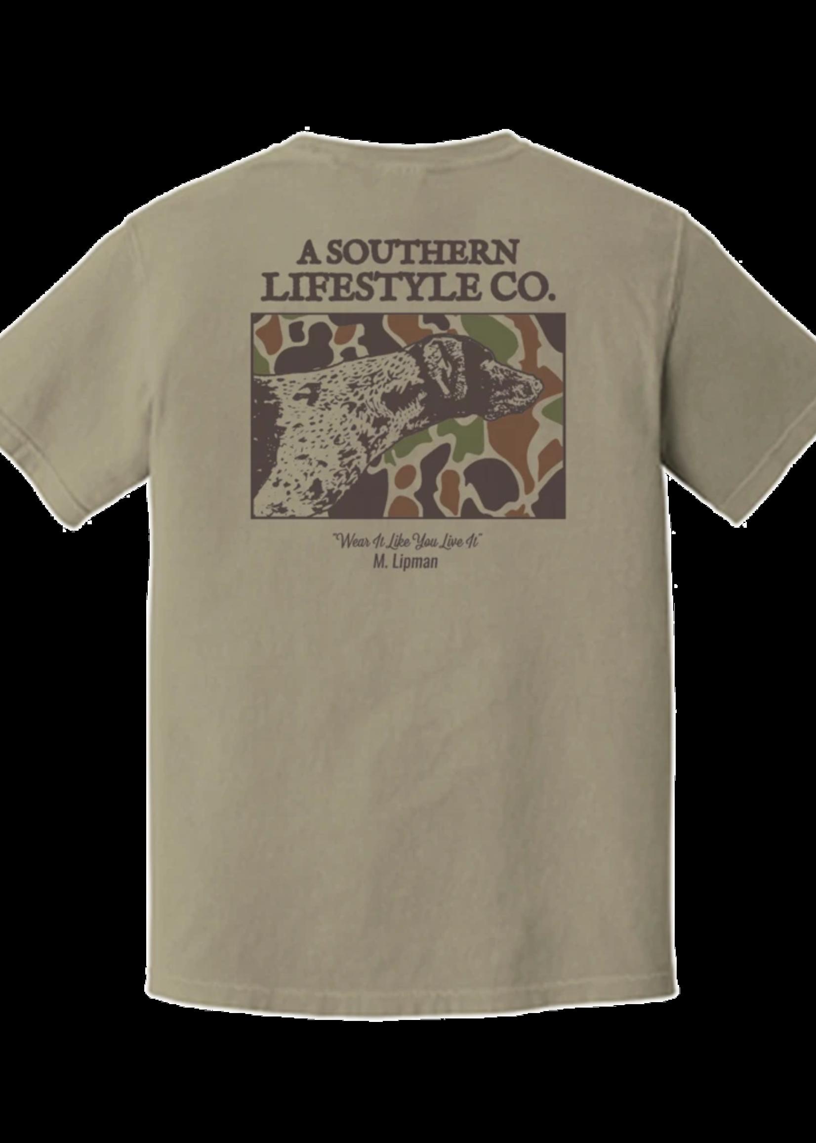 A Southern Lifestyle Co Camo Dog Tee