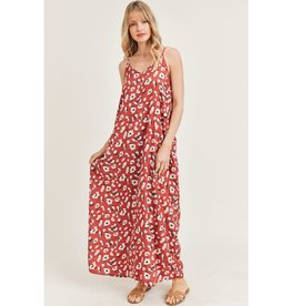 Jodi FL Leopard Print Maxi Dress