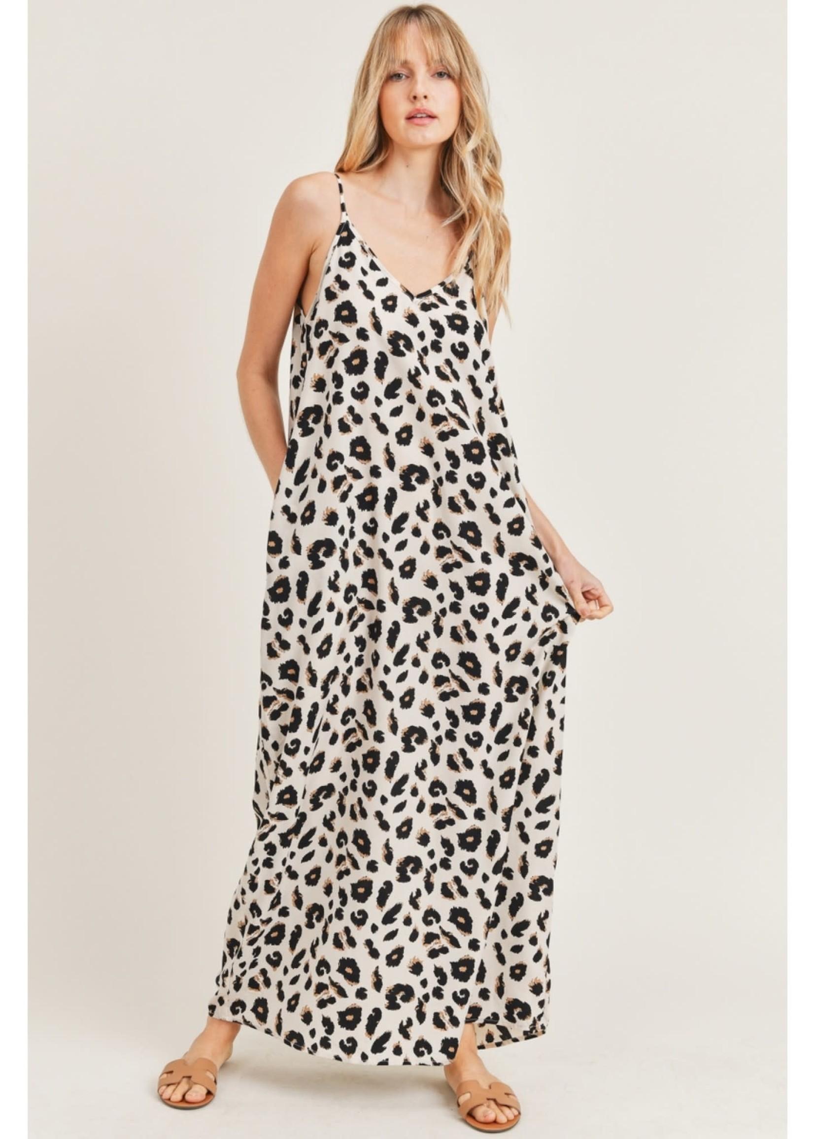 Jodi FL Leopard Print Maxi Dress