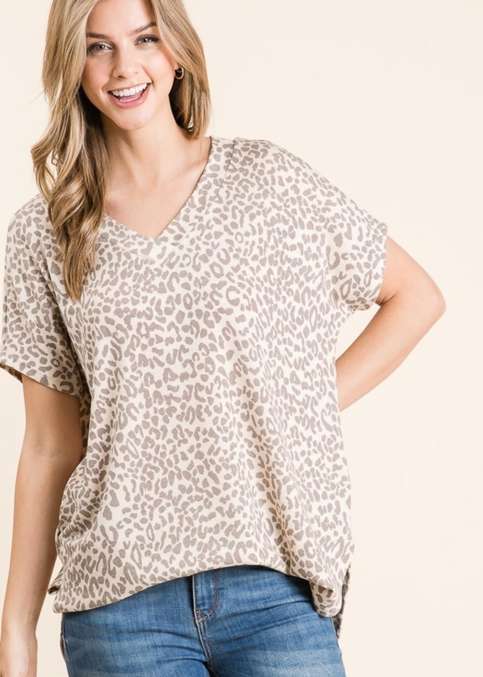 BomBom Animal Print Tunic