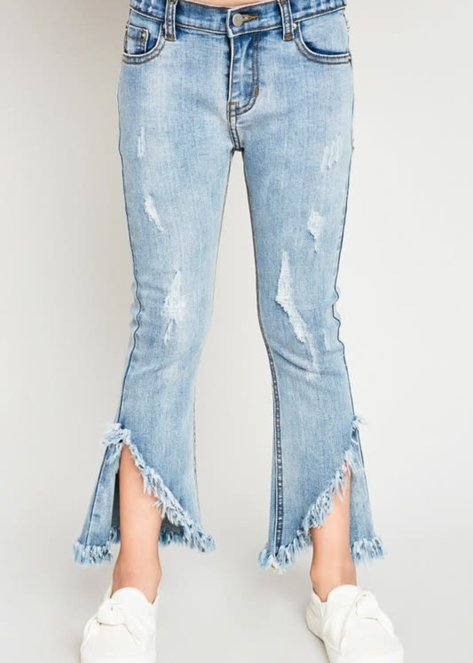Frayed Distressed Flares