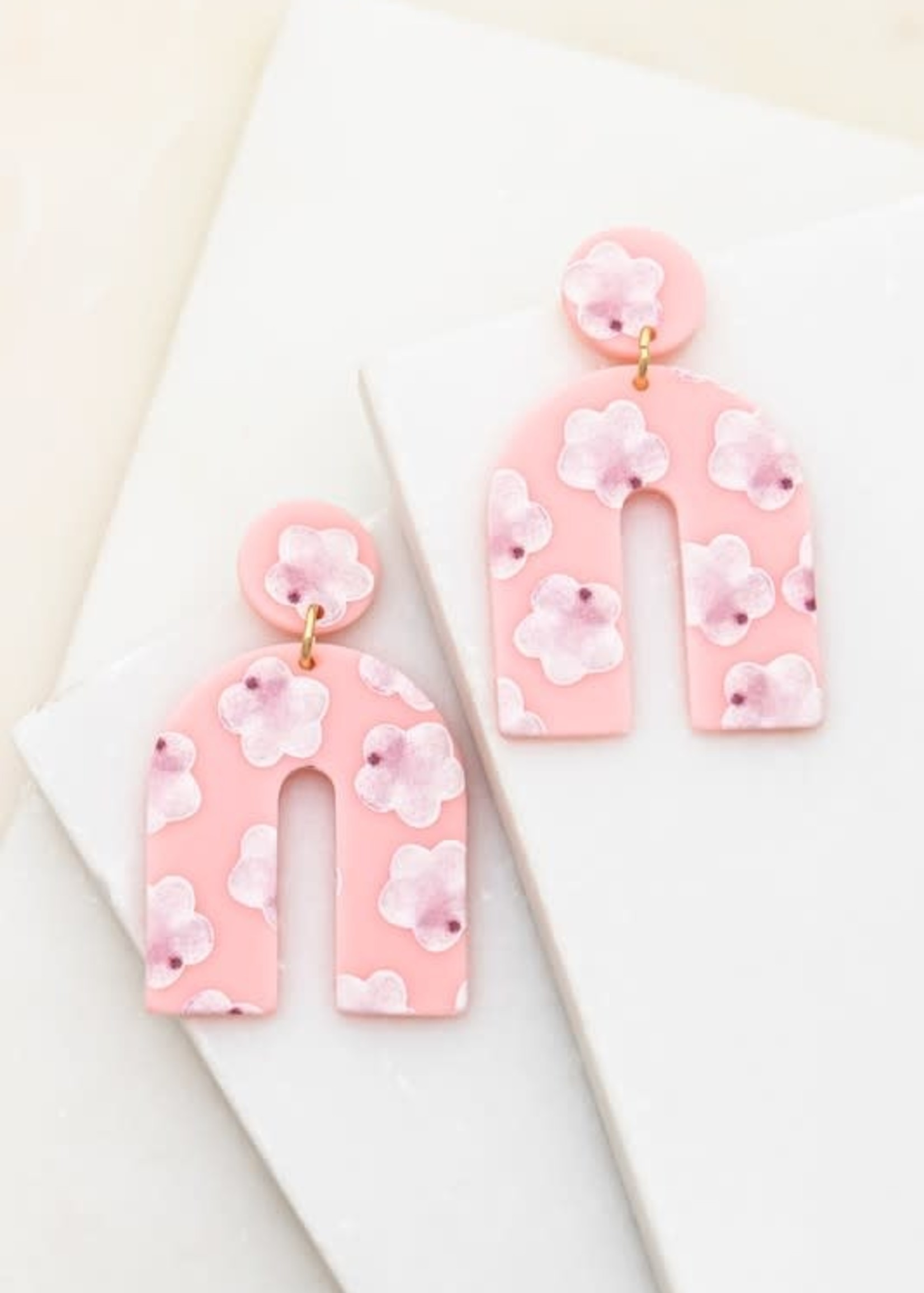 Arch Drop Earrings