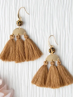 Sahara Tassel Earrings