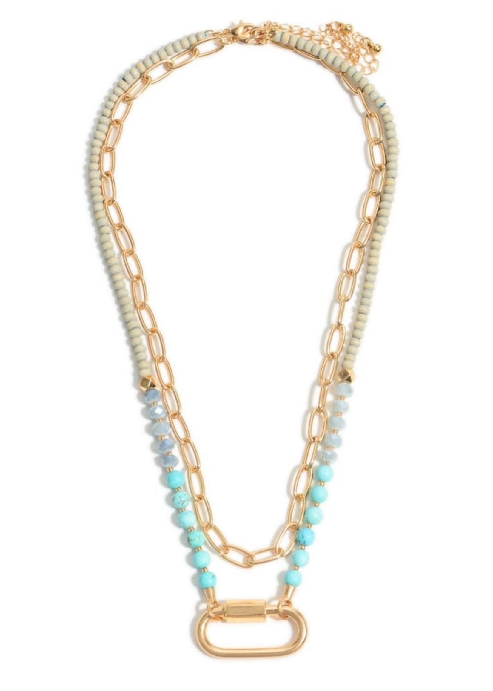 Semi Precious Beaded Chain