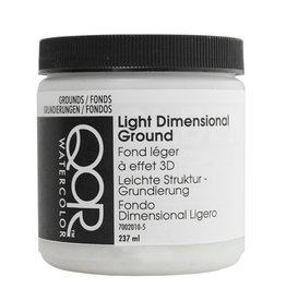 Golden QoR Light Dimensional Ground 8 oz