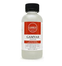 Gamblin Gamblin 4oz Gamvar Pict Varnish Satin, Clear