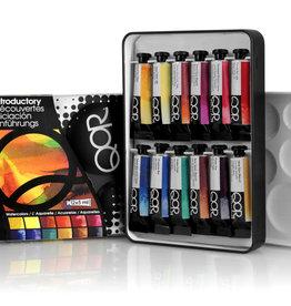 Golden QoR Watercolor Introductory 12 Color Set