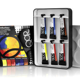 Golden QoR Watercolor Introductory Set 6 colors 7000001-0, Multi