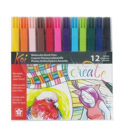 Sakura Koi Assorted Coloring Brush Pen Set