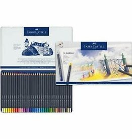 FABER-CASTELL Faber-Castell Goldfaber Colored Pencil Tin Set, 36-Colors