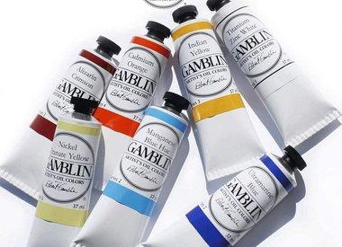 Gamblin Artist Oils 37 ML Tubes